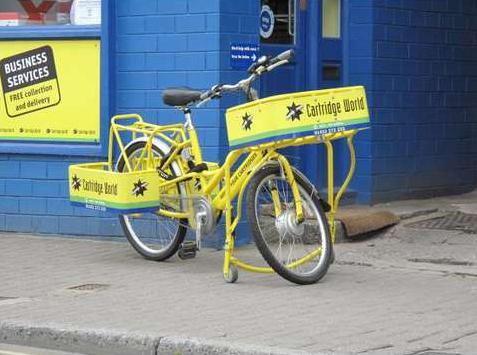 La Livraison à vélo
